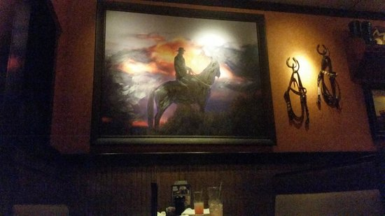 LongHorn Steakhouse: Decoration