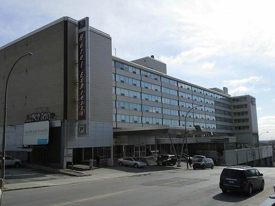 Hotel Espresso Montreal Centre-Ville/Downtown : Frente del Hotel
