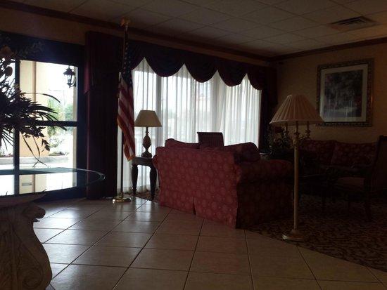 Motel 6 Jacksonville: Lobby