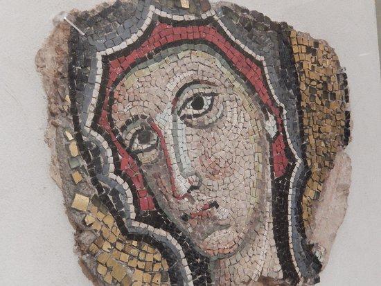 Museo della Cattedrale : museo cattedrale fe - mosaico vergine bizantina