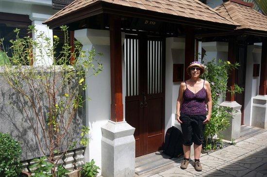 Pavilion Samui Villas & Resort: Room Entrance