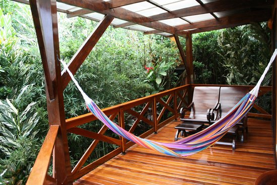 Arenal Springs Resort and Spa: our deck