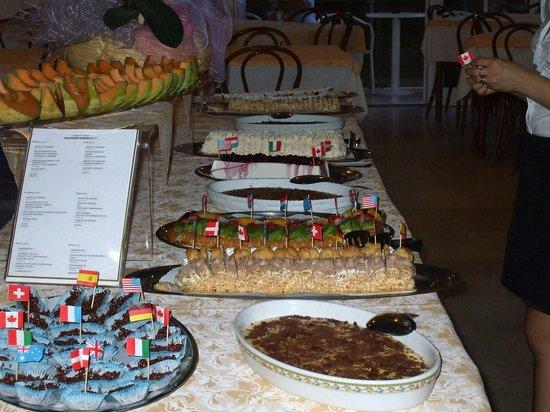Hotel Saponi: Quelques desserts...