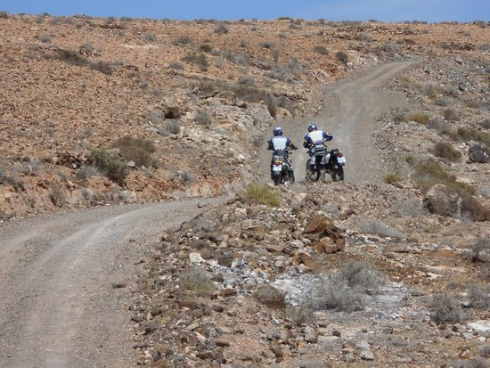 Backtrax Off Road Motorcycle Tours: Great trails to ride on.