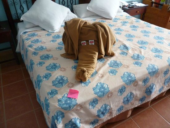 Memories Paraiso Beach Resort: Maid will for sure work extra hard to get your tips!