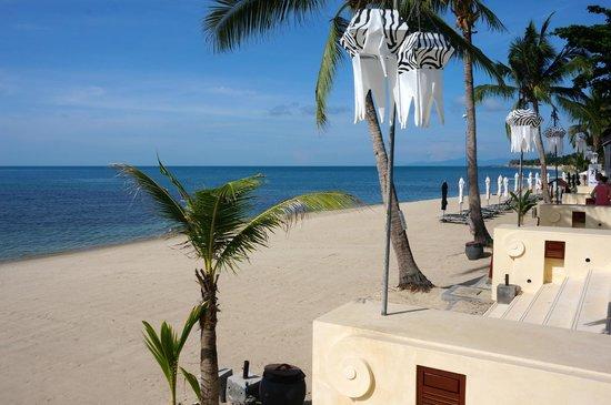 Pavilion Samui Villas & Resort: Beach View