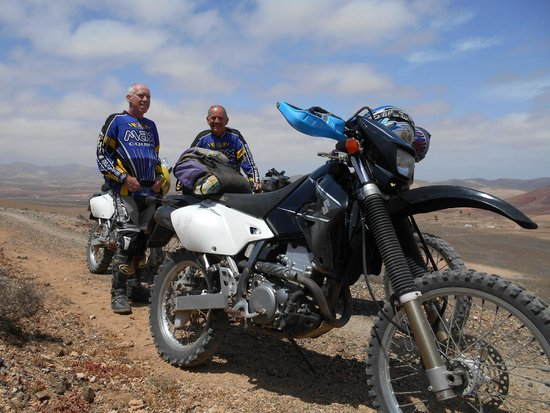 Backtrax Off Road Motorcycle Tours: Ditto..