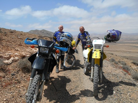 Backtrax Off Road Motorcycle Tours: A break...