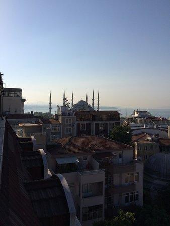 Hotel Mina : 朝食レストランからの眺め