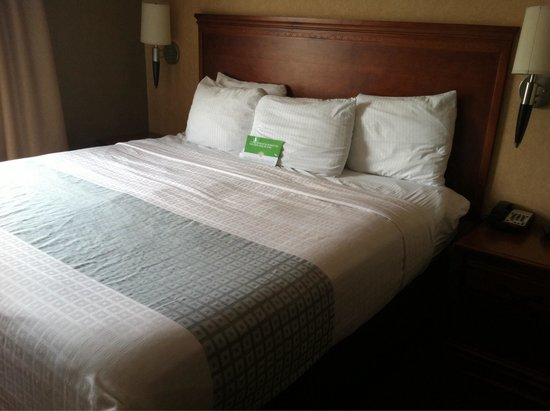 La Quinta Inn & Suites Erie : King bed