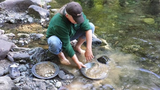 Coffee Creek Ranch : Gold Panning