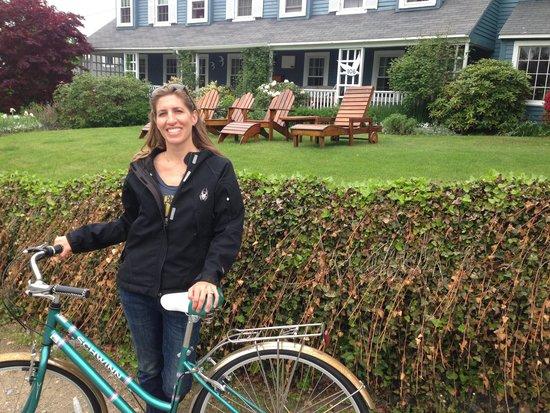 Seagull Inn : bikes to take for ride