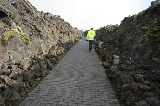 Blue Lagoon Iceland: Entrance.