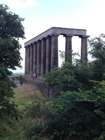 Calton Hill: carlton hill monument
