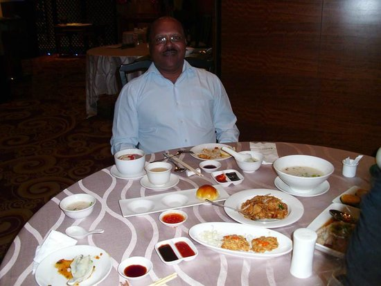 Eastin Hotel Kuala Lumpur: At their Chinese Restaurant for lunch