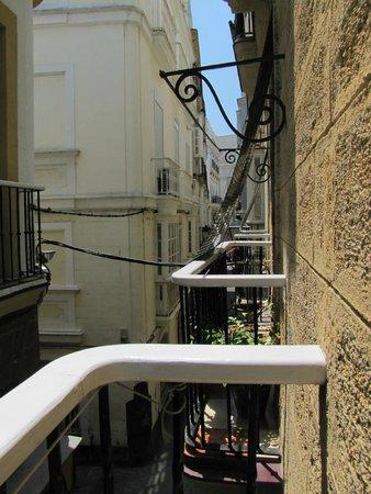 Hostal Colon: Blick vom Balkon