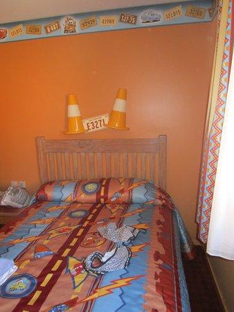 Disney's Hotel Santa Fe: The room