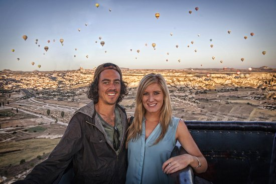 Royal Stone Houses: Hot Air Ballooning