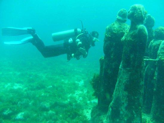 Isla Mujeres Palace: Underwater Museum, Isla Mujeres