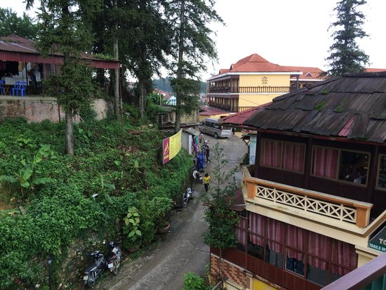 Sapa Panorama Hotel: View from hotel room