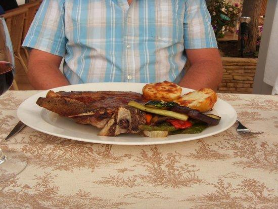 Restaurante Pizzeria Samoa: T Bone Steak