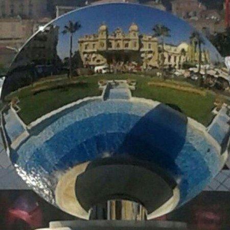 Casino of Monte-Carlo : Specchio della rotonda