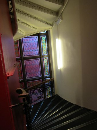 Citybox Oslo: Stairs - they have elevators too, of course!