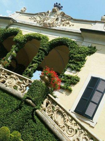 Villa del Balbianello: La loggia