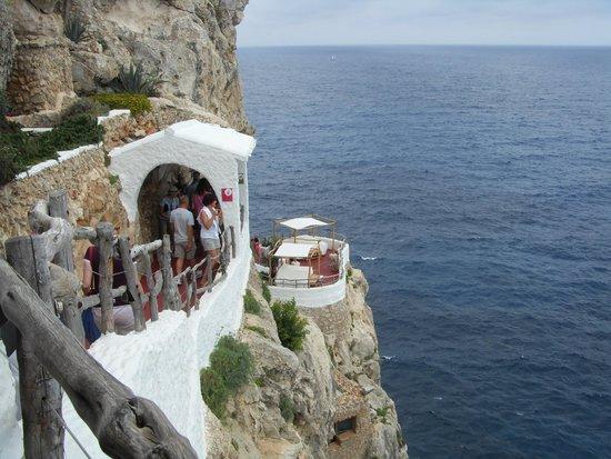 Cova d'en Xoroi : Great views