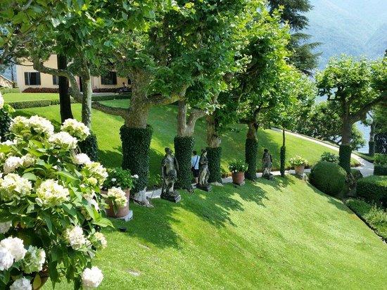Villa del Balbianello: I giardini