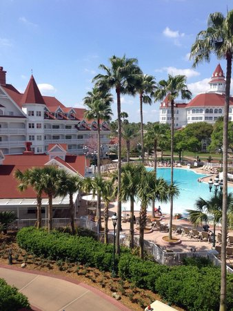 Disney's Grand Floridian Resort & Spa: The view from our room :)