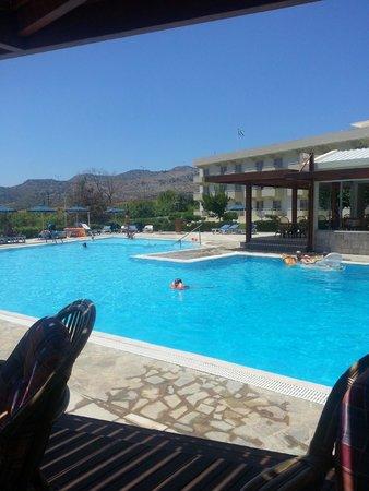 Zoes Hotel: бассейн