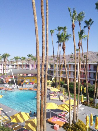The Saguaro Palm Springs: pool - view from room