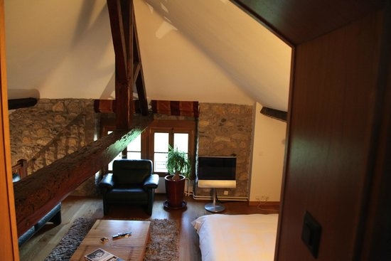 Domaine De Chateauvieux : Room from the top