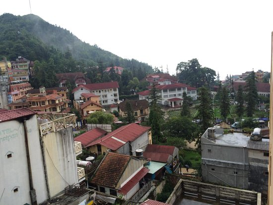 Sapa Panorama Hotel: View from our room
