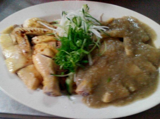 Kim Cheong: 鴛鴦菜園雞 (傳統 & 姜蓉)