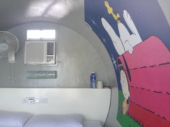 Tubotel: One of the tube rooms