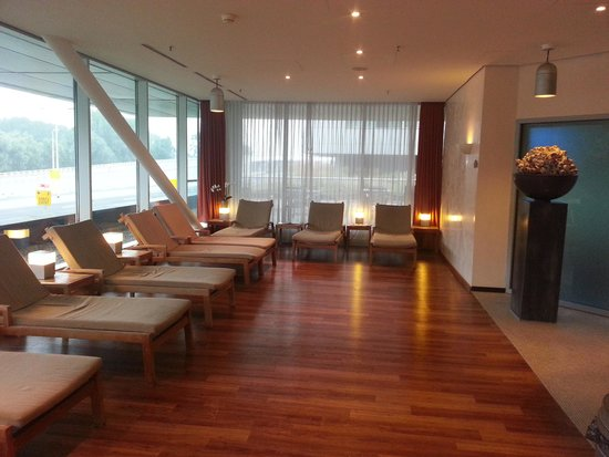 Steigenberger Airport Hotel Amsterdam: The wellness relaxation room.