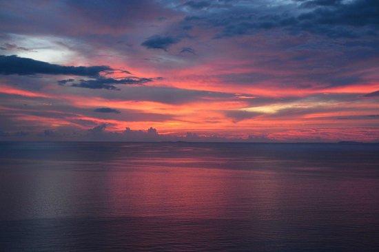 Garza Blanca Preserve, Resort & Spa: Sunset from balcony