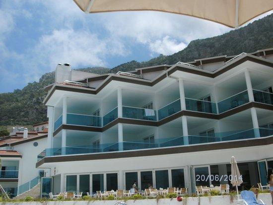 Garcia Resort & Spa: Hotelanlage Aussicht Bergauf