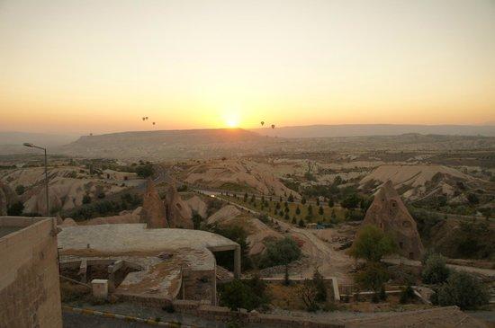 Cappadocia Cave Resort & Spa: テラスからは抜群の眺め。