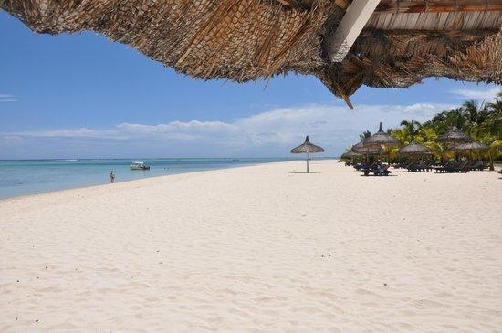 Dinarobin Beachcomber Golf Resort & Spa: La plage
