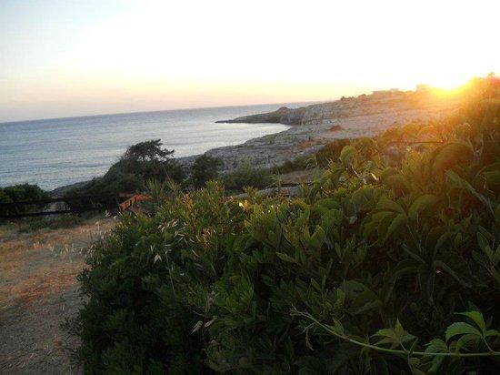 Costa di Ponente: sunset