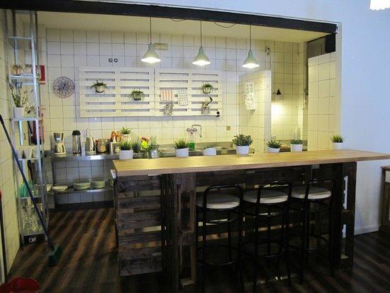 The Boutike Hostel: Una parte dello spazio comune