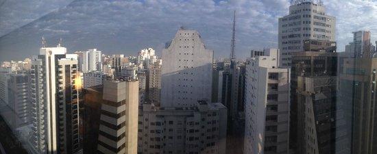 Renaissance Sao Paulo Hotel: Vista desde el interior