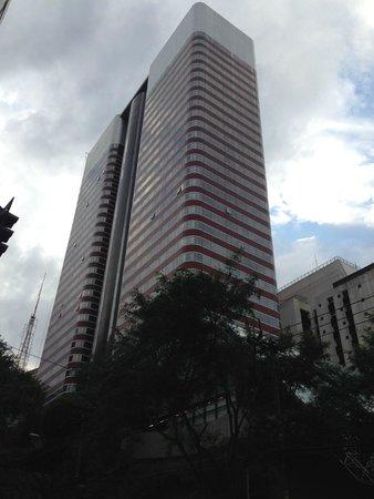 Renaissance Sao Paulo Hotel: Vista desde el exterior