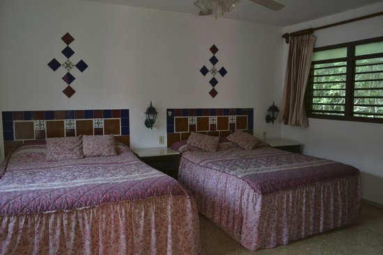 Hotel Dolores Alba Chichen: Rooms are sparse but serviceable