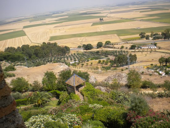 Parador de Carmona: Patchwork of fields