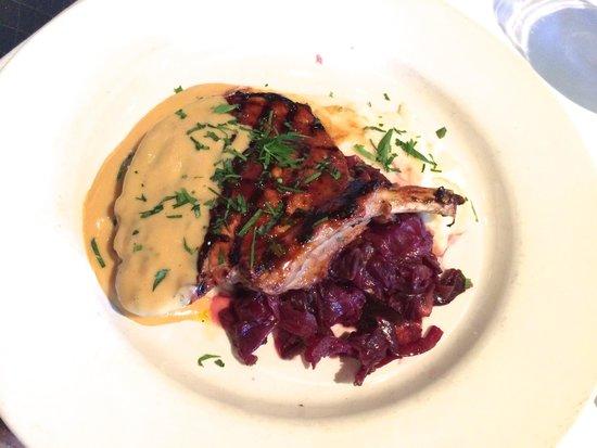 Mustards Grill: Pork Chop