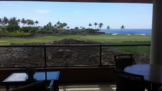 Mauna Lani Point: View from our condo